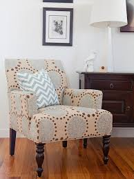 Patterned Armchair Modest Ideas Patterned Living Room Chairs Peaceful Design
