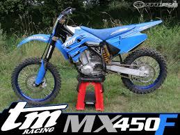 italian motocross bikes 2007 tm racing mx 450 f race test motorcycle usa