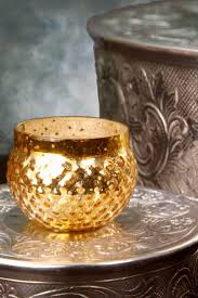 best 25 glass votive ideas on pinterest vosh lakewood magnolia set of 12 mercury glass votive holders in gold