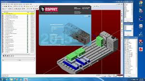 esprit cnc programmer independent contractor youtube