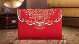 Printing Wedding Invitations Chinese Red Wedding Invitations Cards Free Printing Wedding