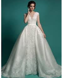 wedding dress with detachable vestido de noiva bridal gown detachable skirt wedding dress