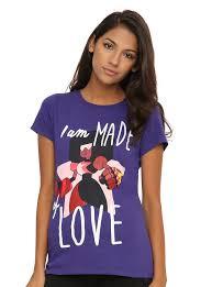 steven universe garnet made of love girls t shirt topic