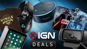 amazon mario cart deluxe black friday 2017 daily deals amazon echo dot and logitech gaming gear ign
