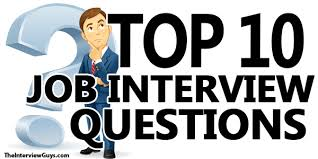 most questions in job interview interview questions toreto co