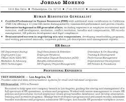 hr resume exles hr sle resume human resource director human resource director