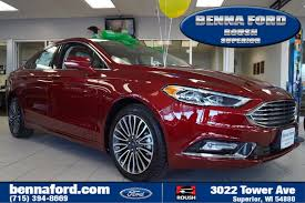 ford fusion ford fusion in superior wi benna ford superior