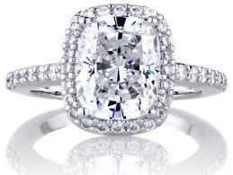 Diamond Cushion Cut Ring Engagement Rings Wonderful Cushion Cut Engagement Rings Double