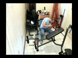 Marcy Bench Press Set Assembly Of A Marcy Strength Bench Youtube
