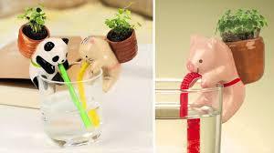 Self Water Pot Cute Self Watering Animal Planters Youtube
