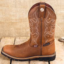 womens boots george george strait all brown square toe boot justin by brand