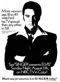 promoting the u002768 tv special elvis echoes of the past