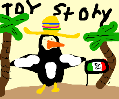 wheezy penguin toy story mexico drawing murphyotter
