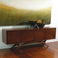 mid century modern tv cabinet views swoop 88 tv stand i wafair