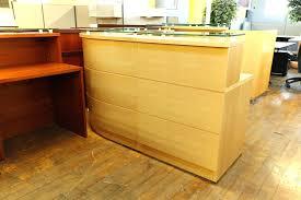 Oak Reception Desk Office Desk Maple Desks Home Office Desk Furniture Corner