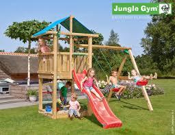 kids garden swings hut 2 swing