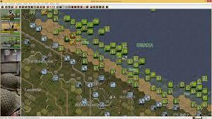 Normandy Map John Tiller Software Panzer Battles Battles Of Normandy