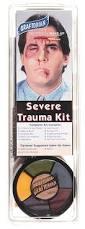 zombie makeup kit spirit halloween amazon com loftus international graftobian severe trauma make up
