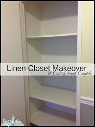 linen closet makeover for under 15 baby to boomer lifestyle