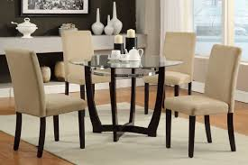 Modern Glass Dining Room Sets Square Glass Dining Tables Inside Square Glass Dining Table