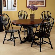 Kitchen Table Legs Dining Room Decoration Using Double Pedestal Cherry Wood Oval