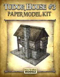 tudor house paper model house and home design