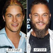 travis fimmel hair travis fimmel what a difference a beard makes