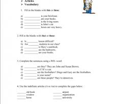 demonstrative pronouns busyteacher free printable worksheets