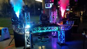 dj lighting truss package dj lighting and stage effects