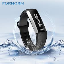 wrist bracelet monitor images Fornorm heart rate monitor smart bracelet fitness tracker wristband sp jpg