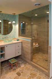 Cape Cod Bathroom Designs Bathroom Glass Shower Design Ideas Combined With Recessed