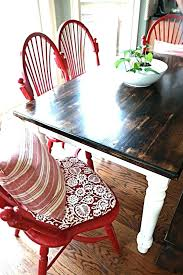 kitchen table refinishing ideas chalk paint for kitchen table best paint dining tables ideas on