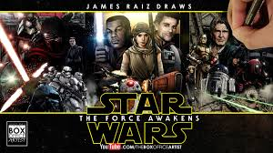 star wars office star wars the force awakens the full colored drawn trailer youtube