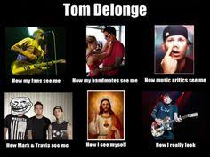 Blink 182 Meme - travis is just like yes and toms like uhh what blink 182