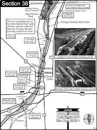 Joliet Illinois Map by Joliet Il Illinios River Des Plaines River Im Canal Map Joliet