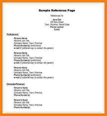 9 format for references addressing letter
