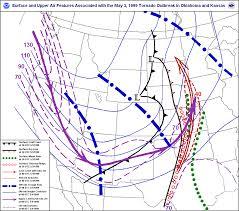 tornado map file meteorological setup of the 1999 oklahoma tornado outbreak