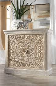 Z Gallerie Coffee Table by Our New Hand Carved Sanctuary Cabinet Is Constructed Of Mango Wood