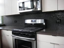black glass tiles for kitchen backsplashes colorful kitchens bathroom floor tiles mosaic tile kitchen