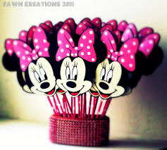 saije minnie mouse cupcake toppers cakepins com bb party