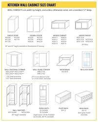 cabinet door sizes chart kitchen cabinet size chart kitchen cabinet sizes chart size standard