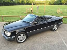 mercedes classic convertible 1996 mercedes benz w124 e220 convertible being auctioned at