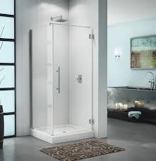 Niagara Shower Door by Fleurco Shower Door Platinum Cube W Wall Mount Hinges Bliss