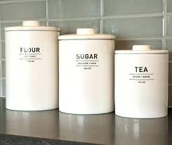 canister for kitchen flour and sugar canisters kitchen flour sugar canisters bed bath