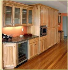 Hickory Cabinets Kitchen Hickory Cabinets With Dark Wood Floors Elliots Better Homes