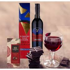 Wine And Chocolate Gift Baskets Buy Barolo Chinato Wine And Extra Dark Chocolate Gift Basket Online