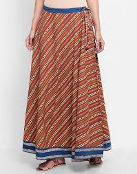 cotton skirts buy fabindia multi cotton bagru printed skirt online