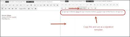 Architect Signature How To Add An Email Signature Quickmail Io Knowledge Base