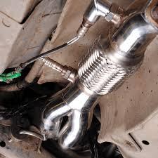 nissan 350z japspeed exhaust japspeed 4 2 1 race exhaust manifold civic ep3 eurospec performance