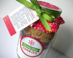custom christmas cookie jar decorations with your recipe